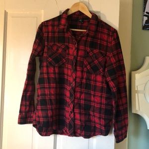 Oversized flannel - size S
